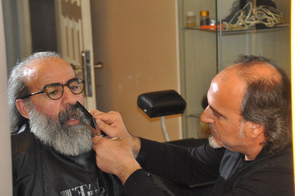 Sakallar sadece Usta Berber Ercan Sezgin'e emanet.