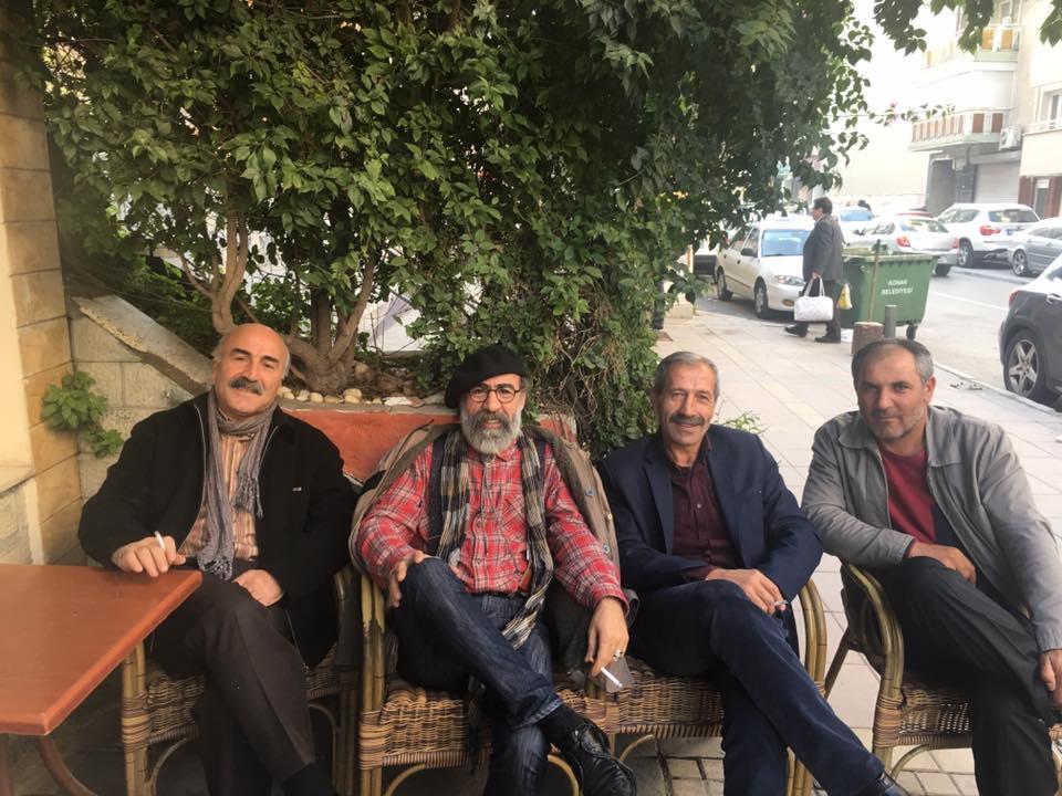 Dadaşlar Harun cici yi ziyaret etti