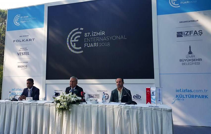 """Başkan Kocaoğlu, """"İEF krize ilaç olacak"""""""