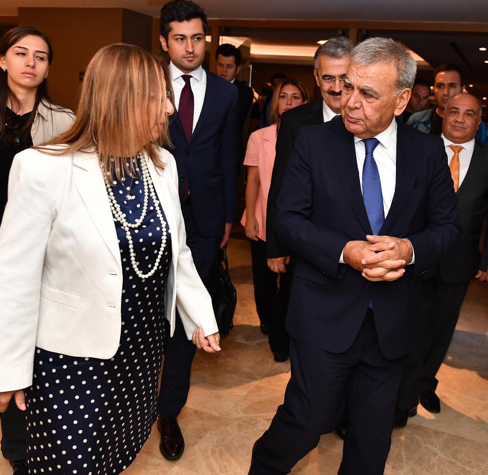 İzmir'de buluştular