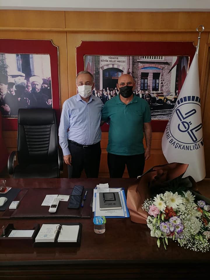 İzmir müftülüğüne hemşehri ziyareti