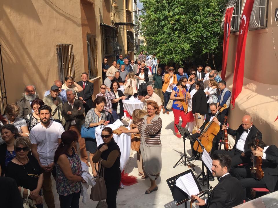 İzmirli Yazar Tarık Dursun K yazar evi açıldı