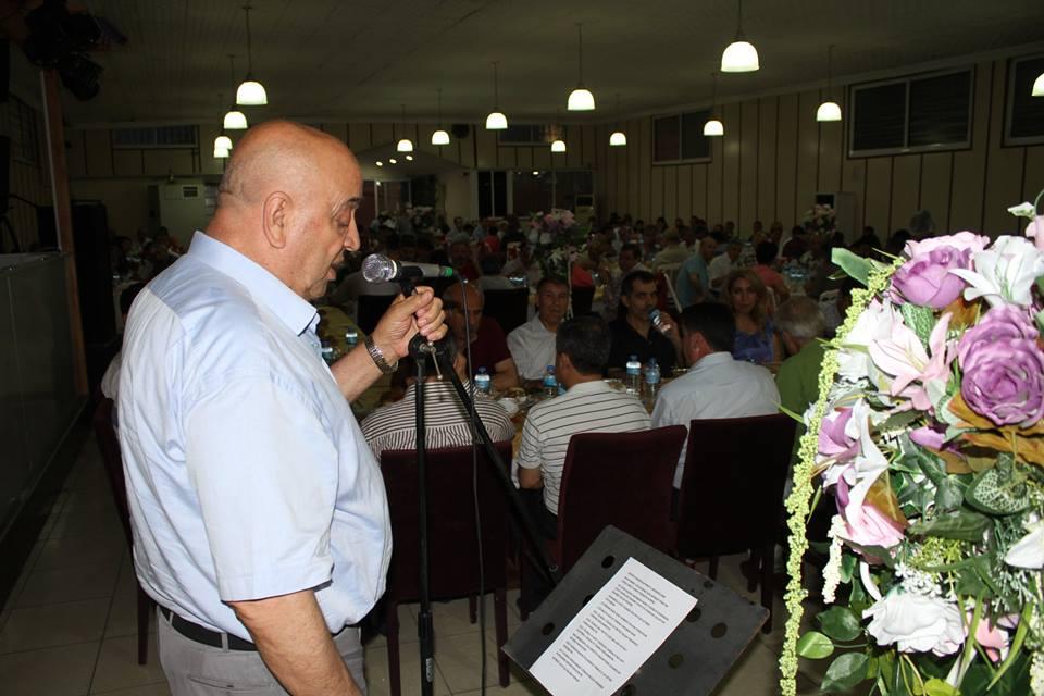 İZERVAK iftarına yoğun katılım